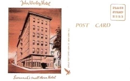 John Wesley Hotel Savannah Georgia