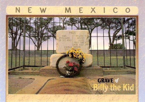 Grave of Billy the Kid, Fort Sumner, New Mexico