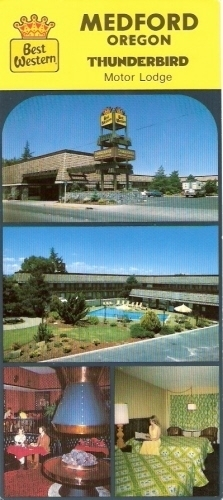craft warehouse medford oregon thunderbird motor lodge medford oregon postcard 4096