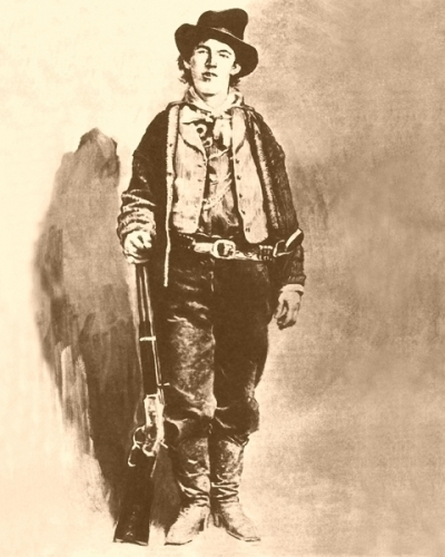 Billy the Kid Print or Canvas - Starting @ $12.99