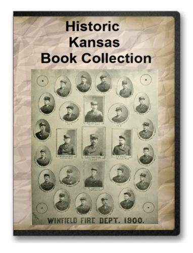 Kansas Historic Book Collection On Cd