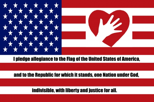 Flag Pledge 11x17 Poster