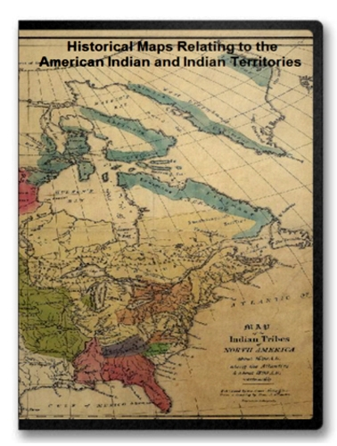 American Indian and Indian Territories Historic Map Collection on CD