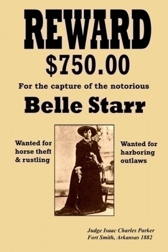Belle Starr Wanted Mini Poster