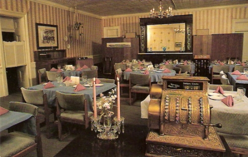 Dining Room, St. James Hotel, Cimarron, New Mexico
