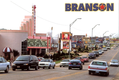 Branson Missouri Set of 2 Postcards Both postcards are