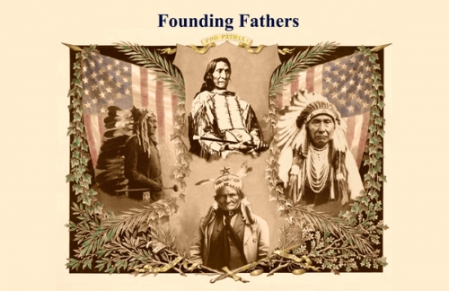Native American Founding Fathers 11x17 Quot Poster