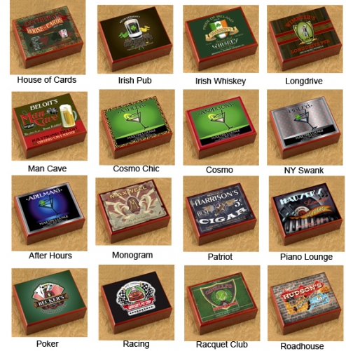 Personalized Cigar Humidor - Numerous Styles