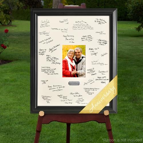 Anniversary Celebration Signature Frame