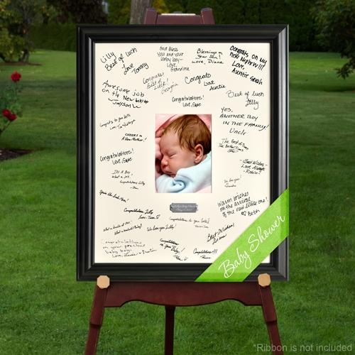 New Baby Celebration Signature Frame
