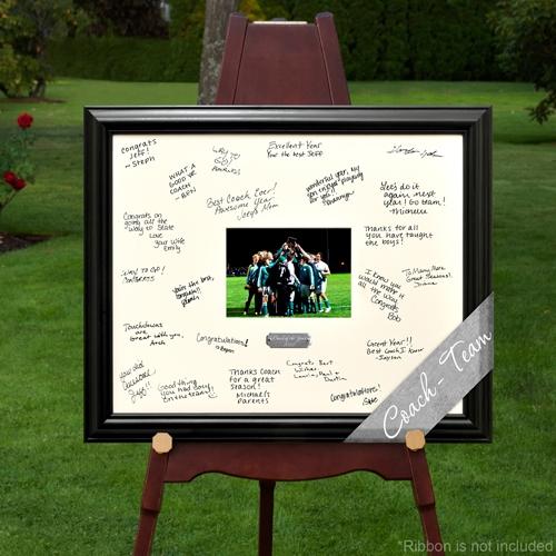 Team Celebration Signature Frame
