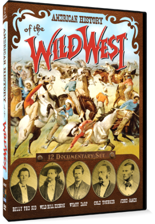 American History Of The Wild West 12 Documentary Set 2