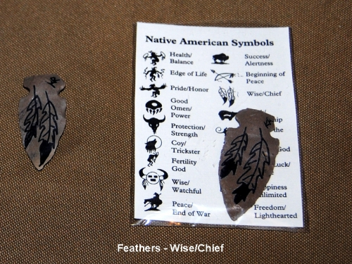 Symbol Arrowheads - Various Designs Symbols Of Watchfulness