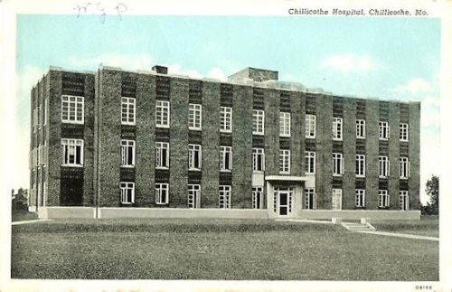 chillicothe missouri set of 2 postcards