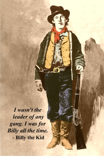 Billy The Kid Postcard
