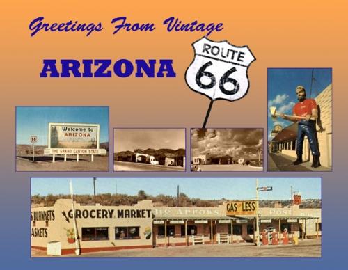 Arizona Greetings From Vintage