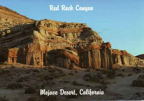 Red Rock Canyon Mojave Desert California