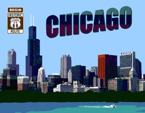 Illinois Chicago Illinois Route 66