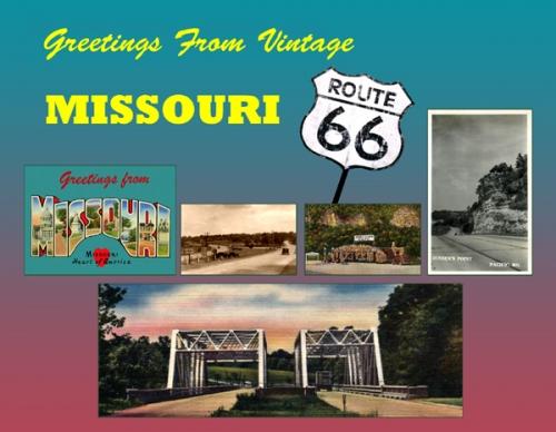 Missouri Greetings From Vintage