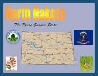 North Dakota - The Peace Garden State