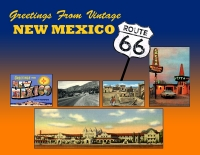 New Mexico - Greetings from Vintage New Mexico 66 Custom Postcard