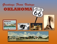 Oklahoma - Greetings From Vintage Oklahoma 66 Custom Postcard