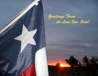 Texas Lone Star Greetings
