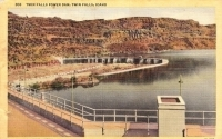 Twin Falls Power Dam