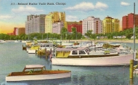 Belmont Harbor Yacht Basin, Chicago, Illinois