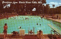 Greetings from Black River Falls, Wisconsin