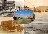 Cody, Wyoming Postcard