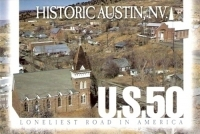Historic Austin, Nevada Postcard