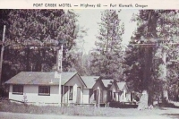 Fort Creek Motel, Fort Klamath, Oregon