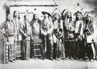 Buffalo Bill and 8 Indian Men