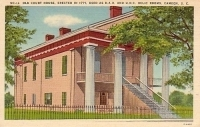 Old Court House Camden, South Carolina Postcard
