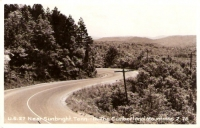 US 27 Near Sunbright, Tennesee Real Picture Postcard