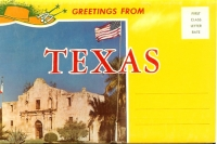 Greetings From Texas, souvenir folder
