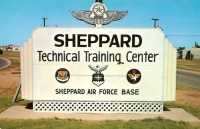Sheppard Air Force Base, Wichita Falls, Texas Postcard