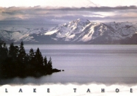 Mount Tallac, Lake Tahoe, CA-NV