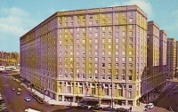 Boston Statler Hilton, Boston, Massachusett Postcard
