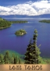 Emerald Bay, Lake Tahoe, California Postcard
