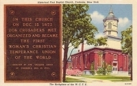 Historical First Baptist Church, Fredonia, New York