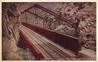 Hanging Bridge in the Royal Gorge, Colorado