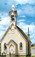 Memorial Chapel, Fairplay, Colorado Postcard