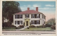 House of Jonathan Harrington, Lexington, Massachusettes Postcard