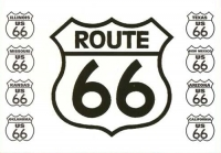 Route 66- State Shields