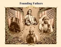 Original Founding Fathers Postcard