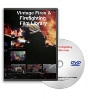 Fires & Firefighting Film Library DVD