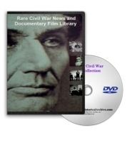 Rare Civil War News and Documentary Film Library DVD
