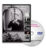 Etiquette, Manners and Teen Dating Advice Film Library 2 DVD Set